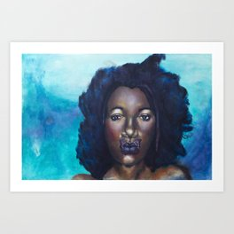 Breathe Beauty Art Print