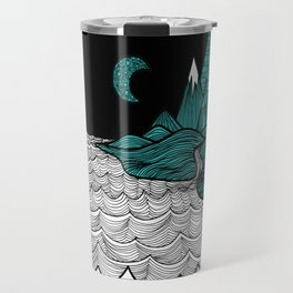 Ocean and Mountains Travel Mug