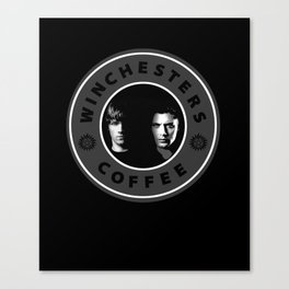 WINCHESTERS COFFEE Canvas Print