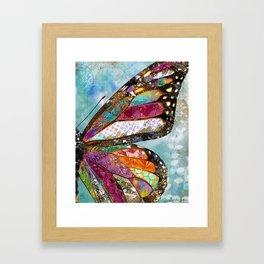Woodland Butterfly Framed Art Print