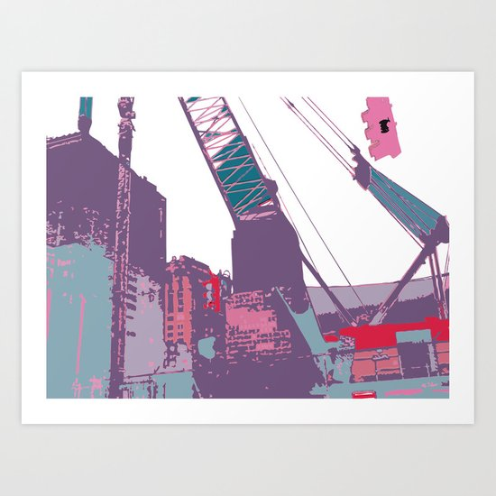 NY#3 (Lost Time) Art Print