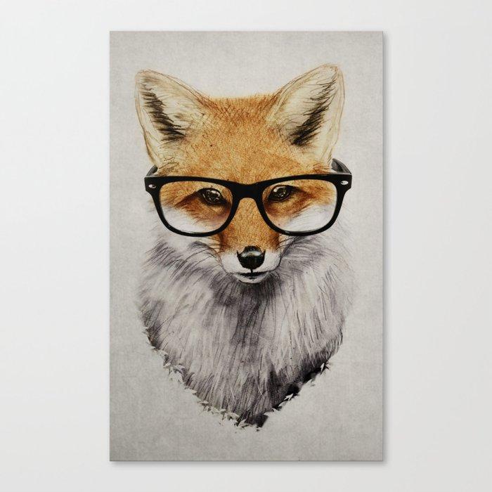 Mr. Fox Leinwanddruck