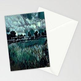 Cat Tails At Dusk: Eilendeir Stationery Cards