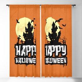 Happy Halloween Blackout Curtain