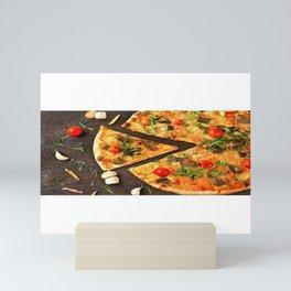 Pizza Slices (13) Mini Art Print