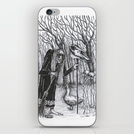 Baba Yaga iPhone Skin