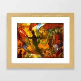 Embracing our differences Framed Art Print