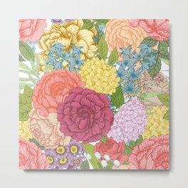 Floral Pattern 15 Metal Print