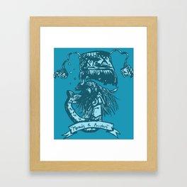 Mermaids & Monsters Framed Art Print