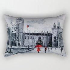 Walk in London Rectangular Pillow