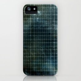 Weathered Grid iPhone Case