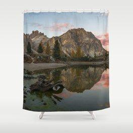 Dolomites 19 - Italy Shower Curtain
