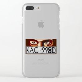Van Damn Van Clear iPhone Case