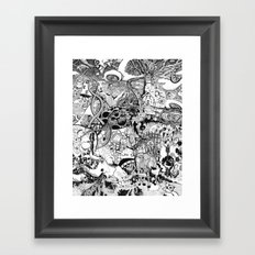 Destroyer Framed Art Print