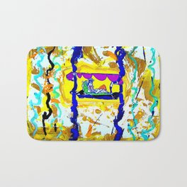 Arrival of the Queen of Sheba        by Kay lipton Bath Mat