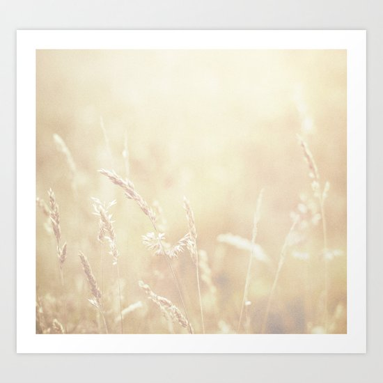 Lets make hay whilst the sun shines  Art Print