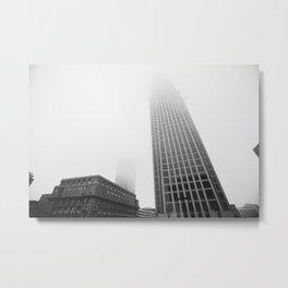 Faded City Metal Print