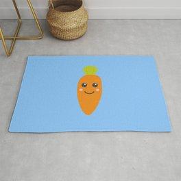 Cute baby carrott Rug
