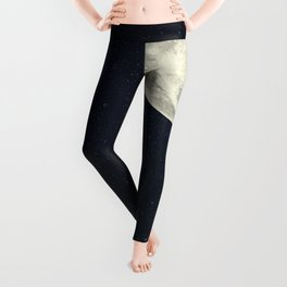 I Gave You the Moon for a Smile Leggings