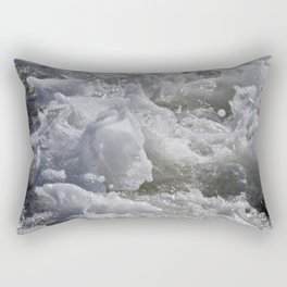 Foaming Sea Rectangular Pillow