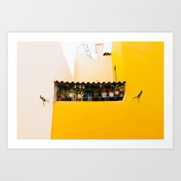 Alfama - Lisbon, Portugal - #4 Art Print