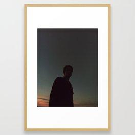 Dreamy boy Framed Art Print