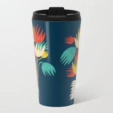 Hedgehog with flowers Metal Travel Mug