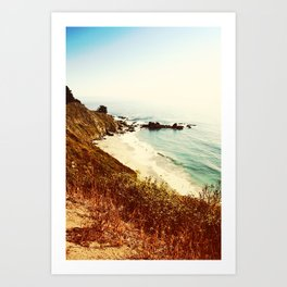 Big Sur Beach Art Print