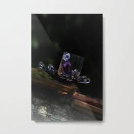 Whisky nature and rock'n roll Metal Print