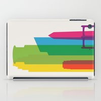 fargo iPad Cases featuring Shapes of Minneapolis by Glen Gould