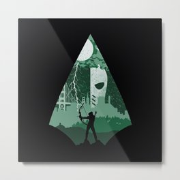 Arrow green Metal Print