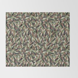Camouphallic Throw Blanket