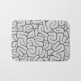Guts or Brains - Grey Bath Mat