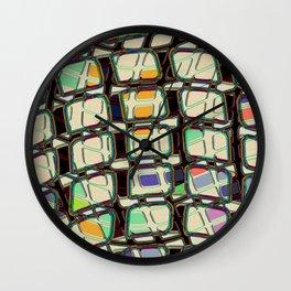 Televisual Wall Clock