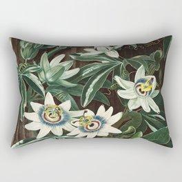 Robert John Thornton - The Passiflora Cerulea Rectangular Pillow