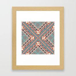 Tatreez Framed Art Print