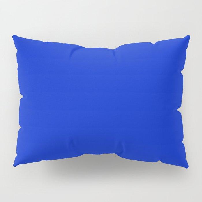 Solid Deep Cobalt Blue Color Pillow Sham