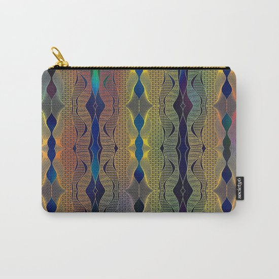 Doodle pattern Carry-All Pouch