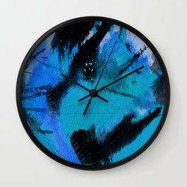 Art Abstraction 3G by Kathy Morton Stanion Wall Clock