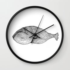 The Whale Wall Clock