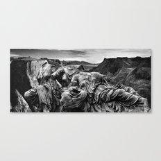 Canyon Graces Canvas Print