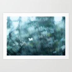 Flutter By Me Art Print