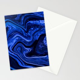 Marble Marbled Abstract Paint CLXVI Stationery Cards