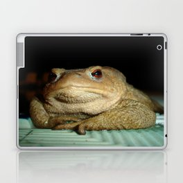 A Common Toad With Philosophical Disposition Laptop & iPad Skin
