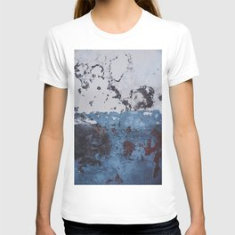 Cracks in a Colored Wall. Madeira Island, Portugal. Painted Houses. Travel print - Photography wall art. Art print.  T-shirt