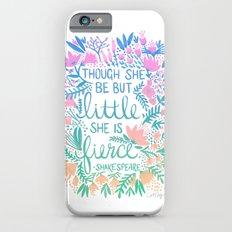 Little & Fierce – Lavender Mint Ombré iPhone 6s Slim Case