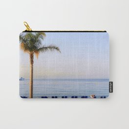 Beach Day Cote d'Azur Carry-All Pouch