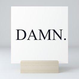 Damn Kandrick Lamar Mini Art Print