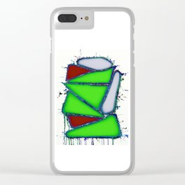 Green sail Clear iPhone Case