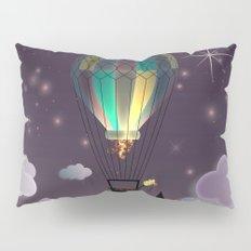 Balloon Aeronautics Night Pillow Sham